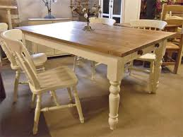 chalk paint farmhouse table a shabby chic farmhouse table with diy chalk paint table