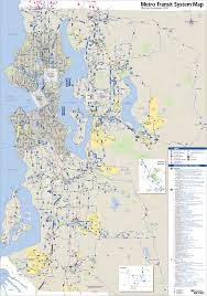 Map Of Seattle Seattle Metro System Map U2022 Mapsof Net