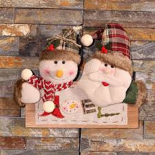 christmas decoration for home wood christmas pendant ornament