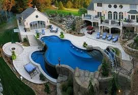 home and garden dream home dream house exterior swimming pools pool garden houses