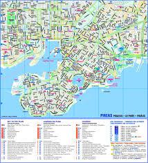 Kos Greece Map by Piraeus Maps Greece Maps Of Piraeus