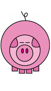 how to draw a pig for kids toddlers preschool easy step by step