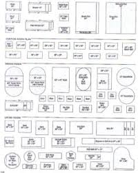 Furniture Templates For Floor Plans | printable furniture templates 1 4 inch scale free graph paper for