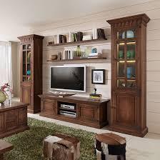 Wohnzimmerschrank Erle Massive Wohnwände Und Weitere Wohnwände Günstig Online Kaufen Bei