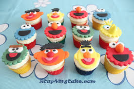 sesame street halloween party cookie monster cake u0026 sesame street cupcakes acup4mycake