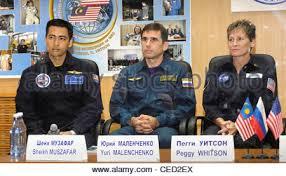 soyuz 15 spacecraft crew commander gennady sarafanov right and