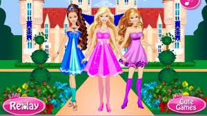 barbie princess play game