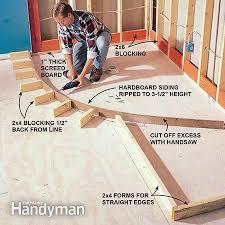 building a shower enclosure how to install a new bathroom diy