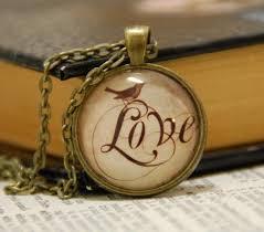 diy glass pendant necklace images Love slogans pendant necklace d i y kit complete dewsupplies jpg
