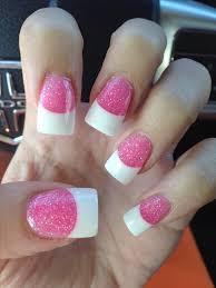 best 25 acrylic white tips ideas only on pinterest flower toe