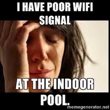 Naked Girl Meme - geek themed meme of the week pool wi fi network world