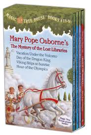 Magic Treehouse - magic tree house books 13 16 boxed set mary pope osborne