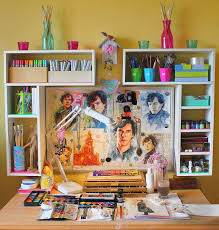 Creative Ideas For Decorating Your Room Dream Hobby Room How To Create Your Own Art Studio At Home