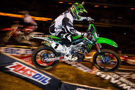 monster energy motocross helmet monster energy kawasaki u0027s villopoto wins in oakland