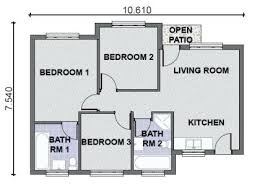 3 bedroom house plans 3 bedroom home plans 3 bedroom house designs and floor plans in
