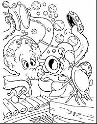 marvelous sea mermaid coloring pages ariel