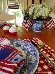 Memorial Day Decor Fun And Colorful Patriotic Holiday Decorating Ideas An