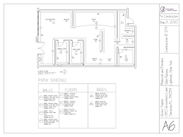 hair salon floor plans grace sigona interior design student construction documents for
