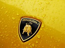 lamborghini symbol on car behind of the lamborghini logo on behance