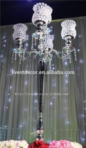 wholesale candelabra centerpieces wedding 5 arm silver candelabra