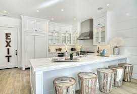 reclaimed white oak kitchen cabinets reclaimed wood kitchen peninsula design ideas
