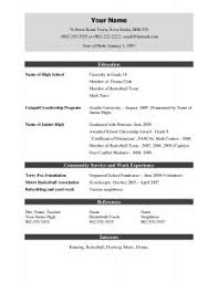 Sample Us Resume by Examples Of Resumes Simple Resume Sample Without Experience