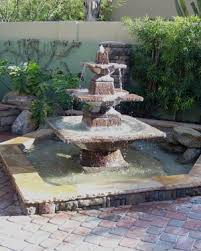 marvelous design backyard water fountains stunning 20 solar water