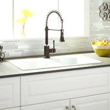 cast iron drop in sink single or double bowl kitchen sink doublexit info