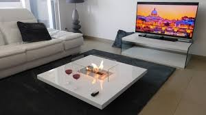 Bioethanol Fireplace Insert by Coffee Table Fireplace With Remote Ethanol Burner Insert Lou