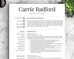 it professional resume template professional resume templates cv templates by landeddesignstudio