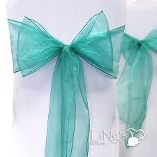 organza sashes 100 pieces organza chair cover sash bows wedding annual dinner