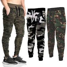 army pattern fleece new mens camo skinny camouflage joggers camo jogging pants fleece