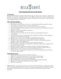 100 front desk resume samples download resume for medical