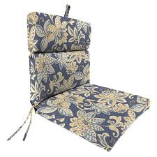 High Back Patio Chair by Extremely Creative Patio Chair Cushions Blazing Needles 22 X 45 In