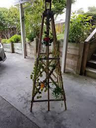 garden obelisk plant climbing frame neighbourly mount eden