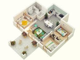 bed 52 3d three bedroom house plans 25 more 2 bedroom 3d floor