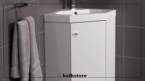 alpine duo 420 basin and corner vanity unit youtube