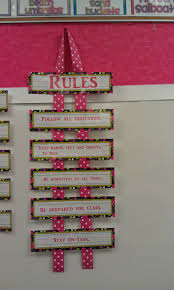 Pinterest Classroom Decor by Cute Way To Display Classroom Rules Easy Display That Doesn U0027t