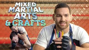 mixed martial arts u0026 crafts the awesomer