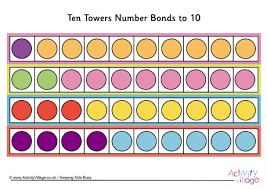 number bonds up to 10