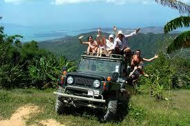 Jungle Jeep Safari No Animals In Captivity Koh Samui