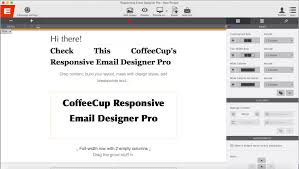 introduction coffeecup responsive email designer pro youtube