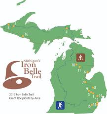 Upper Peninsula Michigan Map by Som Dnr Awards 350 000 In Third Round Of Funding For Projects