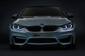 ferrari headlights at night bmw m4 concept iconic lights shows laser and oled lighting at ces