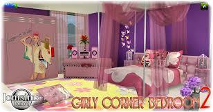 deco chambre girly chambre adolescent sims 4