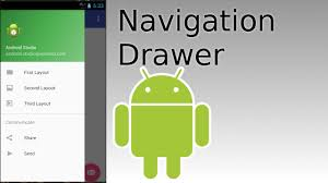 green android android studio create navigation drawer