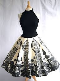 vintage dresses cut print vintage dresses with flair here s looking like