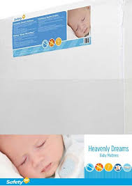 Safety 1st Heavenly Dreams Crib Mattress Safety 1st Heavenly Dreams Crib Mattress Review 2017