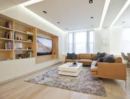 le wohnzimmer led plafond moderne dans la chambre à coucher et le salon