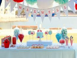 Boy Birthday Decorations Cool Baby First Birthday Themes Party Sandy U0027s Party Plans